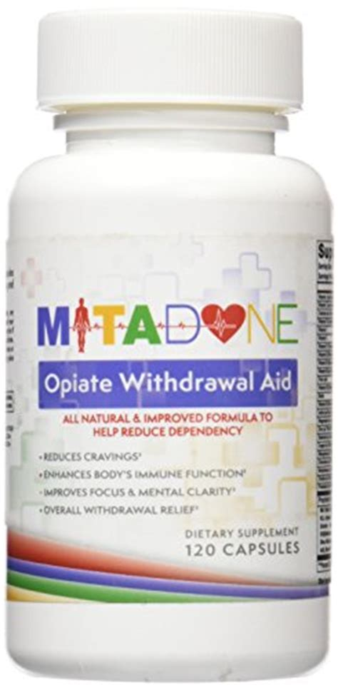 Opiates Detox Percocets by Mitadone Opiate Withdrawal Aid Supplement For Painkillers