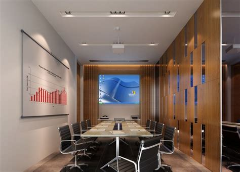 interior design conferences modern minimalist digital meeting room interior design