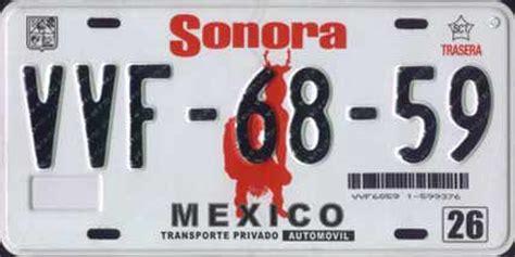 placas de sonora 2016 placas de mexico pilon taringa