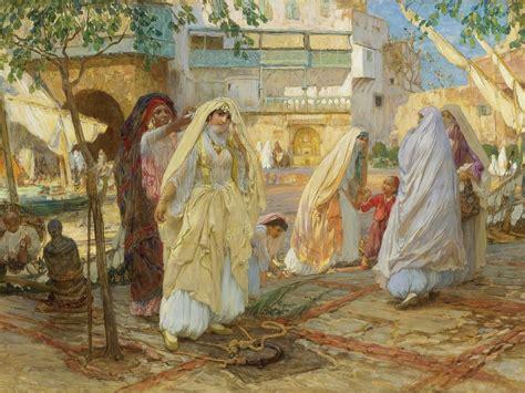 Sketches D Algerie by Arthur Bridgman Peintre Recherche Alg 232 Rie Par