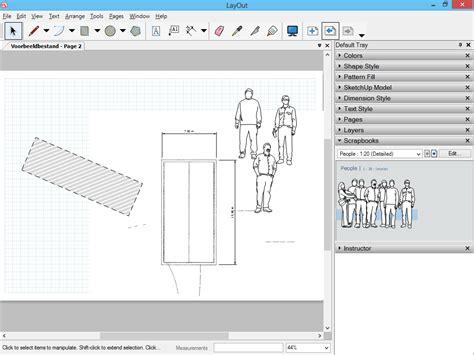 sketchup layout scrapbook doors layout sketchup 3d voor iedereen