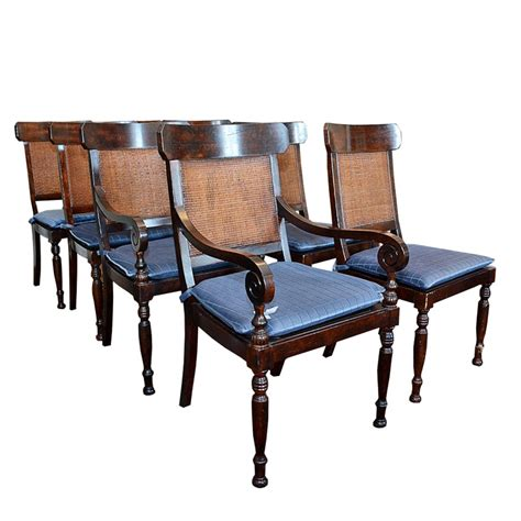 furniture set of eight dining chairs by baker at stdibs regency style dining chairs by baker furniture ebth
