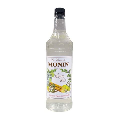 mojito cocktail mix monin mojito mix plastic
