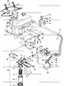 Fuel System In Tractor Fuel System Yanmar Tractor Parts