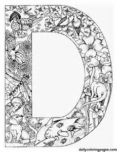 Galerry alphabet colouring pages for adults