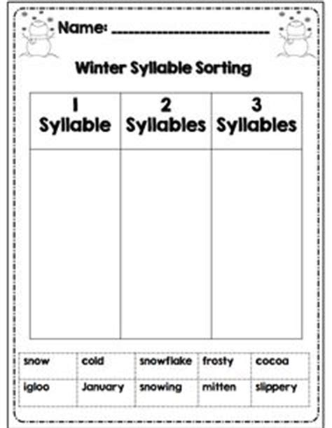 syllables worksheets 1st grade syllable zoo is a phonics worksheet in which students count the syllables in animal words
