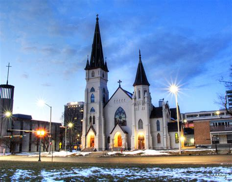 catholic churches in lincoln nebraska st marys catholic church lincoln nebraska photograph by