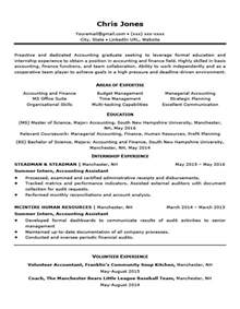 Resume Templates by Career Situation Resume Templates Resume Companion