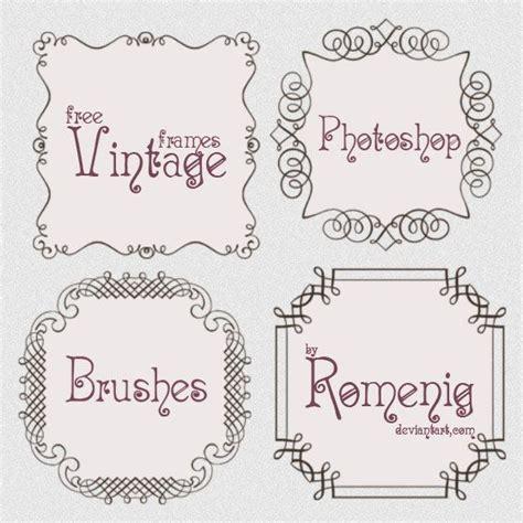 free doodle frame font free vintage doodle calligraphy frames brushes brushes