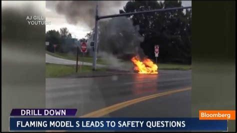 Tesla Model S Fires Tesla Model S On Safety Questions Stock