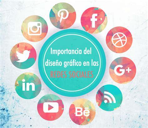 imagenes de otras redes sociales importancia del dise 241 o gr 225 fico en las redes sociales