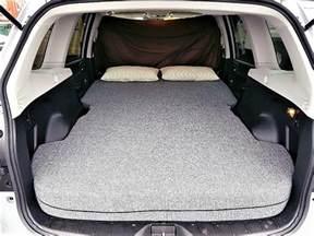 Subaru Forester Bed Subaru Forester A T Sleep N Drive 4x4