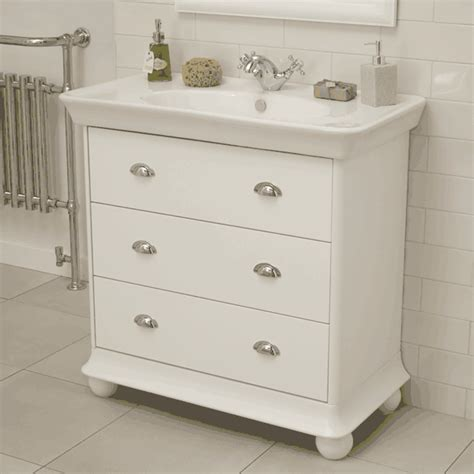 3 drawer bathroom vanity valencia white 900mm 3 drawer vanity unit