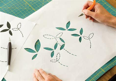 How To Make Stencil Paper - how to make a screen print stencil masterclass with