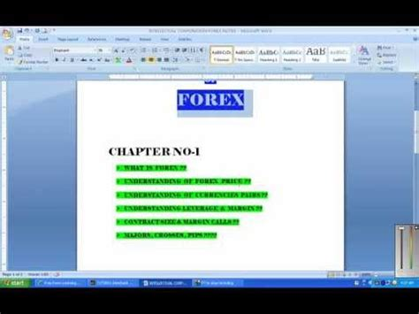 forex tutorial reddit forex training in urdu part 1 all free video tutorials