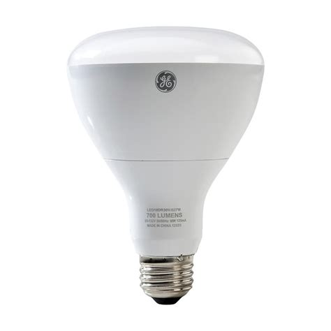 Ge 65w Equivalent Reveal 2850k High Definition Br30 Led Light Bulbs Definition