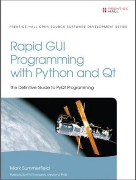 programming with qt book rapid gui programming with python and qt book