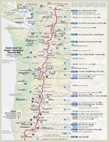 pct pacific crest trail oregon maps