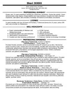 Rite Aid Pharmacist Cover Letter by Pharmacy Tech Resume Exle Rite Aid Pharmacy Baltimore Maryland