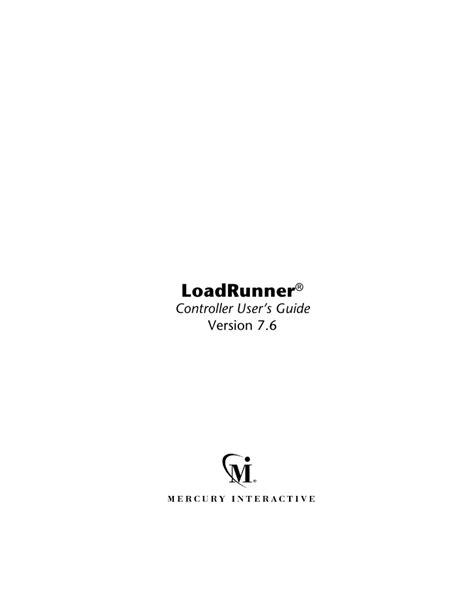 Loadrunner Documentation
