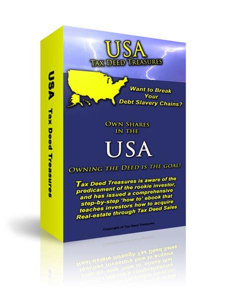 tax deed states map usa slam