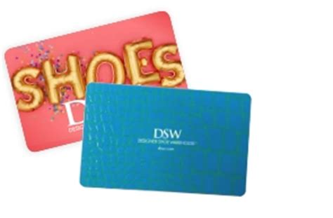 Dsw Gift Card Discount - dsw gift cards personalized gift cards online gift cards
