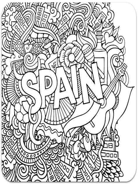 coloring book for anxiety anti stress coloring pages for adults free printable anti