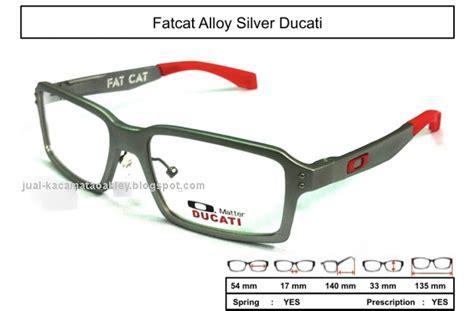 Kaca Fengsui Ukuran 5 Inc frame kacamata oakley fatcat alloy silver ducati kaca