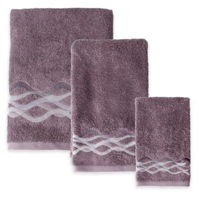 buy purple towels from bed bath beyond