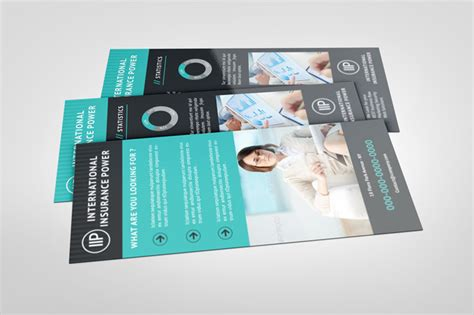 downloadable rack card templates business rack card template graphicriver print templates