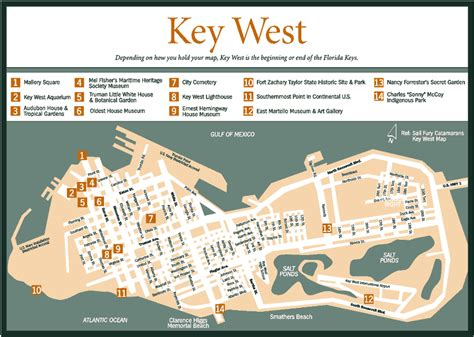 key west florida map pin key west map on