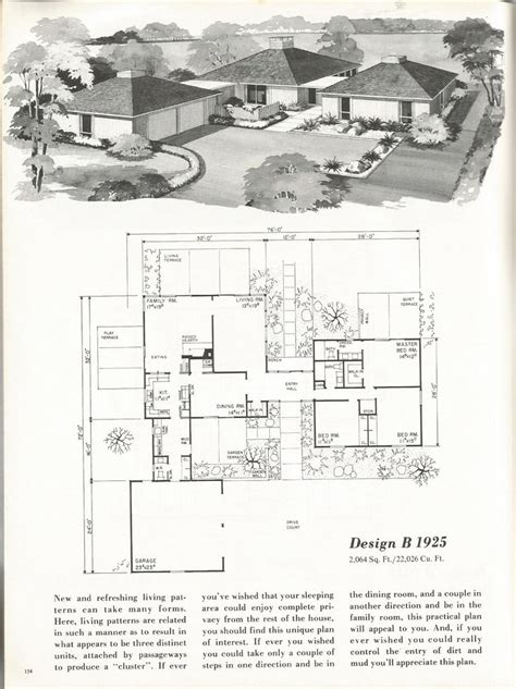 house plans search vintage house plans mid century homes 1960s homes floorplans vintage house