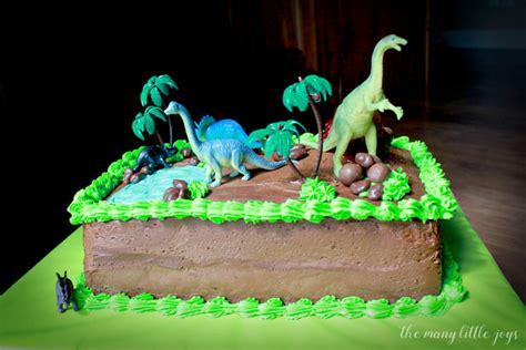 Ideas For Kitchen Themes by How To Make A Dinosaur Birthday Cake The Many Little Joys