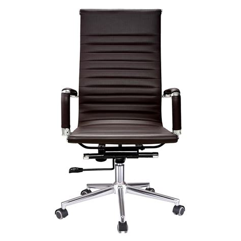 Back Seat Desk by Ergonomic High Back Pu Leather Office Chair Computer Desk