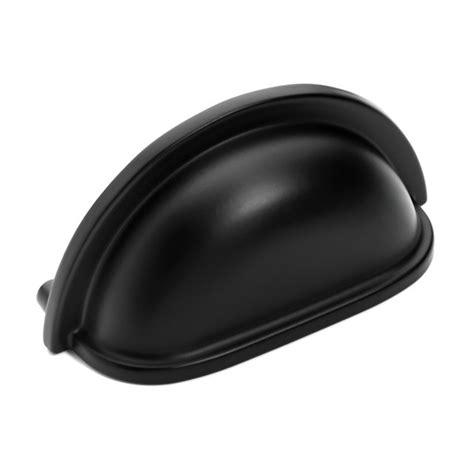flat black cabinet hardware knobs pulls ebay