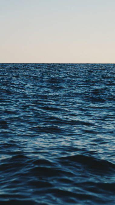 sea horizon sky wallpaper