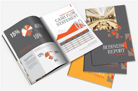 creative report templates annual report brochure template brochure templates on