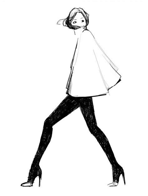 fashion illustration on black paper fashion illustration ave styles