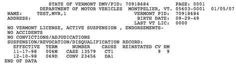 Are Dmv Records Vermont Dmv Driver Record Search