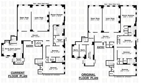 San Remo Floor Plans by Bruce Willis Buys U2 Bassist S New York Apartment Zillow