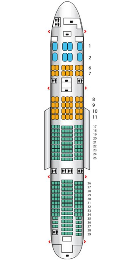 emirates seat map boeing 777 emirates seating plan