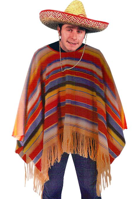 Cowboy Decorations For Home by Mexican Poncho Mexican Fancy Dress Escapade 174 Uk