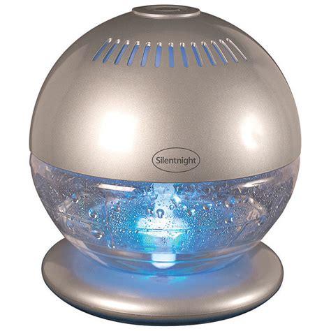 silentnight colour changing air purifier humidifier bm