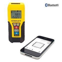 stanley introduces tlm99s laser distance measurer with mechanical hub stanley laser distance measurer