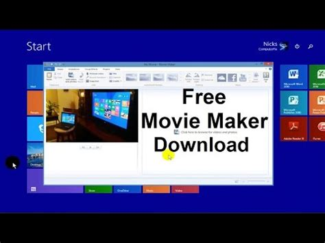 easy video maker download how to install windows movie maker on windows 8 free hd