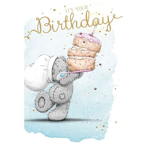 greetings to me to you birthday greetings cards selection tatty teddy