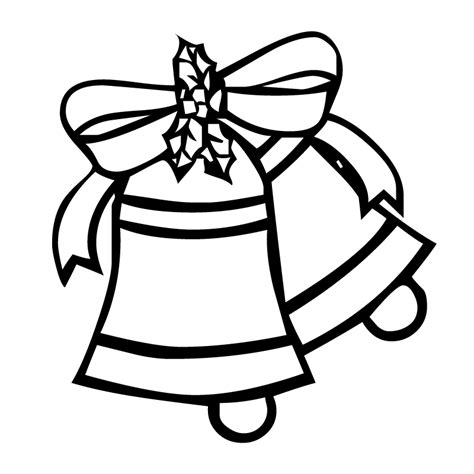 coloring pages of christmas bells christmas bells coloring pages coloring home