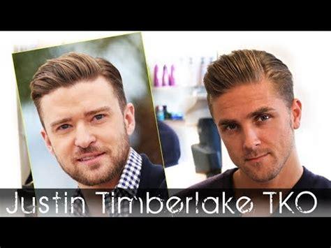 silkhaar tv haircut justin timberlake tko hair tutorial men s celebrity