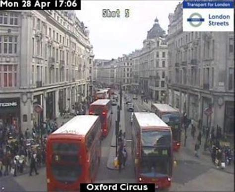 london cam live oxford circus traffic web cam oxford street in london