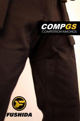 black fushida compgs brazilian jiu jitsu gi | competition